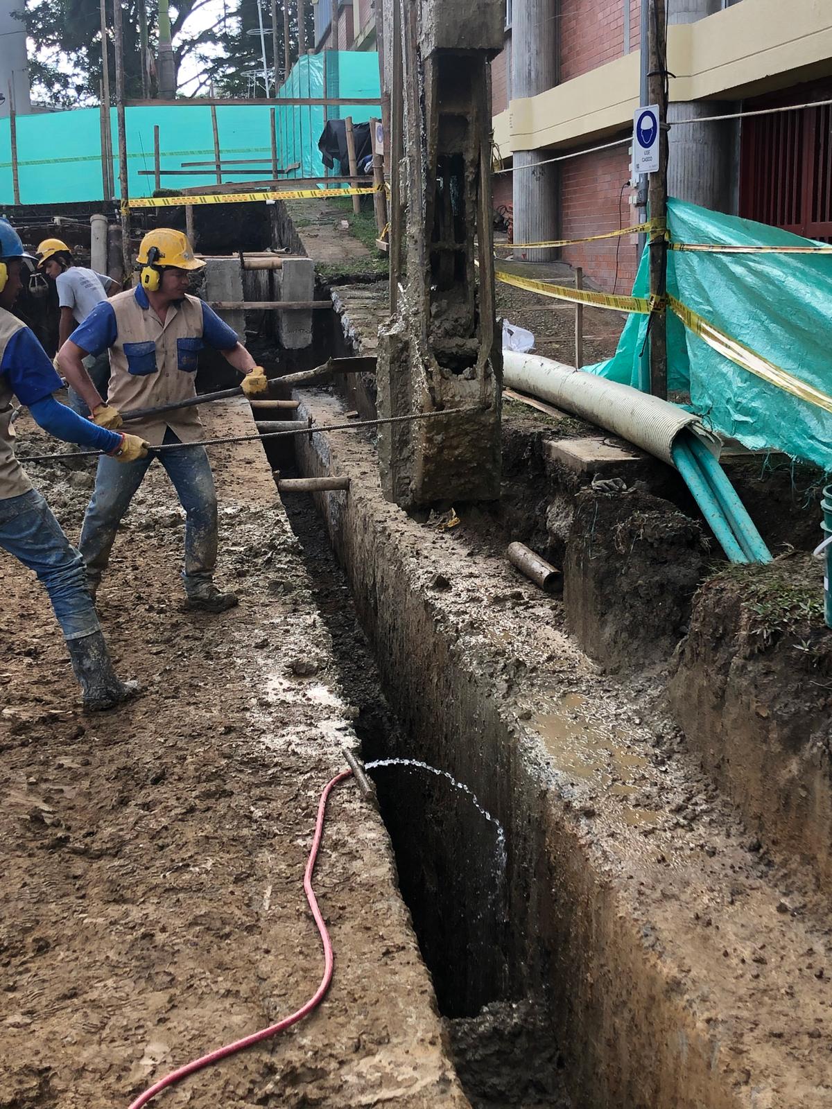 Pantallas Pre-excavadas